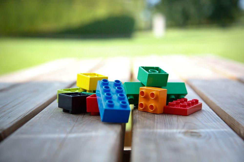 Byg en figur af lego - Teambuilding